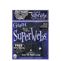 Spider Webbing Black