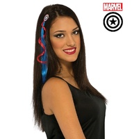 American Dream Hair Extension Costume Accessory