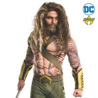 Aquaman Beard and Wig Set Adult Costume Accessory