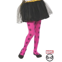 Spider-Girl Child Tights Pink