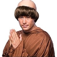 Monk Adult Wig
