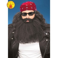 Beard and Moustache Adult Costume Accessory