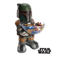 Star Wars Boba Fett Candy Bowl Holder Decoration Prop