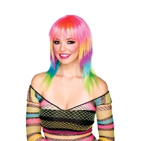 Club Candy Candi Stripe Adult Wig