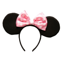 Minnie Mouse Ears Child Headband