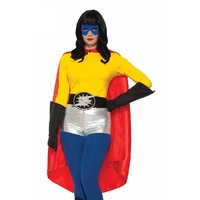 Hero Cape Red Adult Costume Accessory