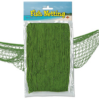Fish Netting Party Accessories Green