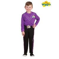 The Wiggles Lachy Purple Wiggle Deluxe Child Costume