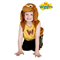 The Wiggles Wags Plush Child Tabard Costume