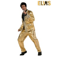 Elvis Gold Suit Collector's Edition Adult Costume