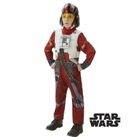 Star Wars Poe X-Wing Fighter Deluxe Child Costume