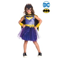 Batgirl Classic Purple Child Costume