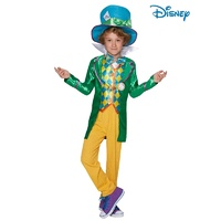 Alice In Wonderland Mad Hatter Child 9-10 Yrs Costume