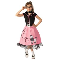 50'S Bopper Girl Child Costume