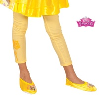 Beauty And The Beast Belle Footless Tights Child Costume Accessory