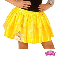 Beauty And The Beast Belle Princess Tutu Skirt Child Costume