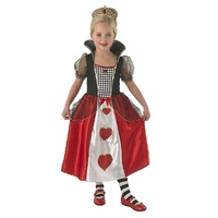 Alice In Wonderland Queen Of Hearts Child Costume