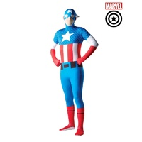 Captain America 2nd Skin Adult Costume