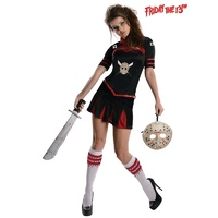 Jason Vorhees Friday The 13th Jason Cheerleader Adult Costume