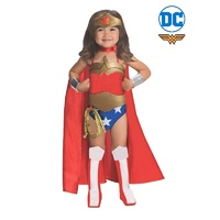 Wonder Woman Deluxe Toddler Child Costume