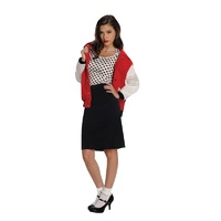 50's Rebel Chick Adult Costume