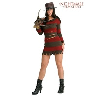 A Nightmare On Elm Street Freddy Krueger Miss Kreuger Adult Costume