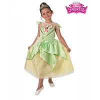 The Frog Princess Tiana Shimmer Deluxe Child Costume