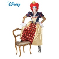 Alice In Wonderland Queen Of Hearts Deluxe Adult Costume