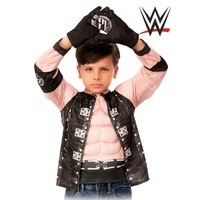 WWE AJ Styles Child Costume Top and Gloves