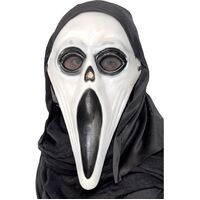 Screamer Mask With Hood