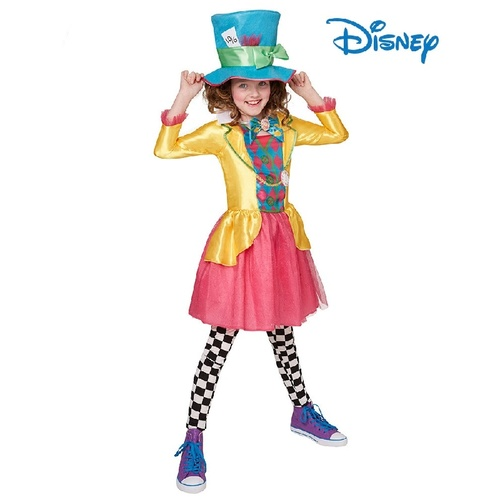 Alice In Wonderland Mad Hatter Deluxe Tween Teen Costume