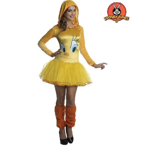 Looney Tunes Tweety Hooded Tutu Adult Costume