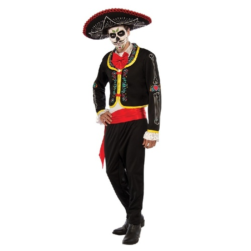 Day Of The Dead Senor Adult Costume
