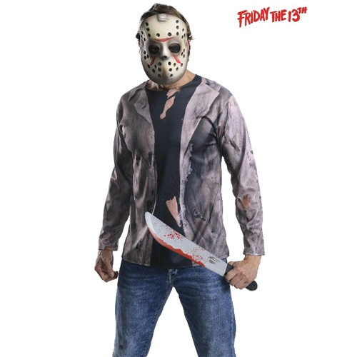 Jason Vorhees Friday The 13th Jason Deluxe Adult Costume
