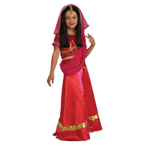 Bollywood Princess Child Costume