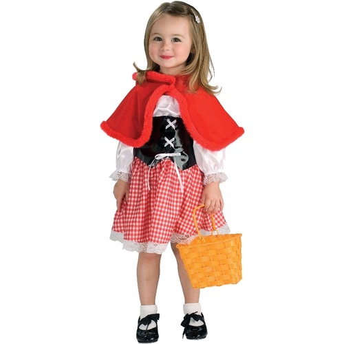 Red Riding Hood Toddler Child Costume
